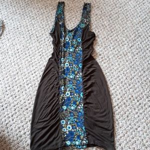 Free People fitted dress sz S